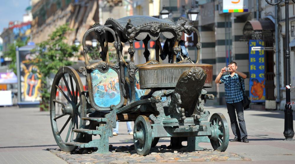 Пешеходная экскурсия по улице Баумана - фото №1