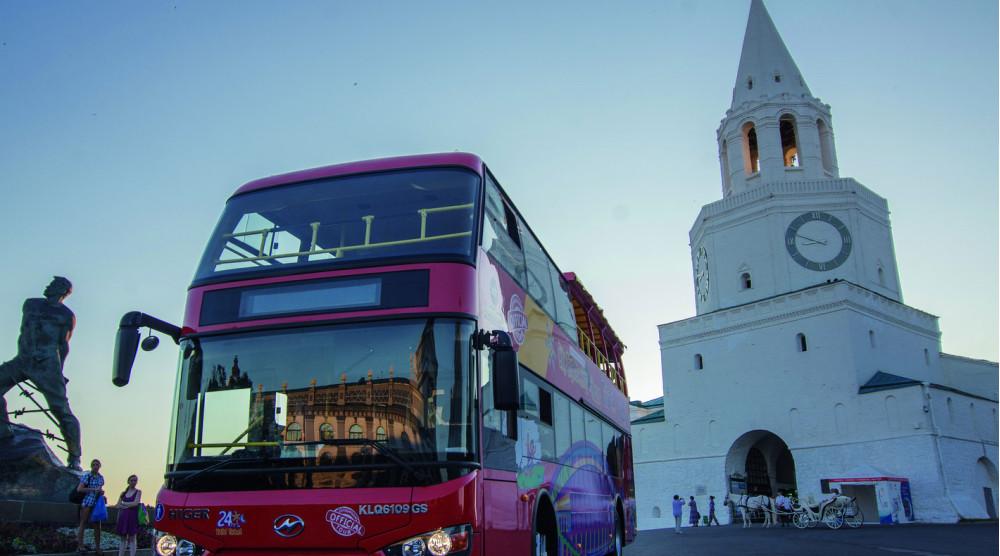 «CITY SIGHTSEEING» - экскурсия по Казани на красном двухэтажном автобусе - фото