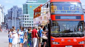«CITY SIGHTSEEING» - экскурсия по Казани на красном двухэтажном автобусе - уменьшенная копия фото №1