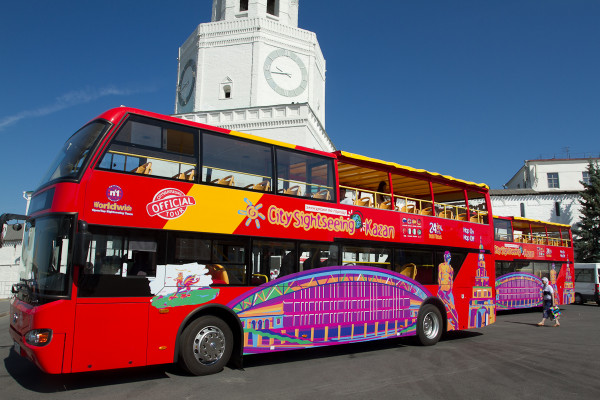 Автобусная экскурсия «CITY SIGHTSEEING» по Казани  – фото для каталога