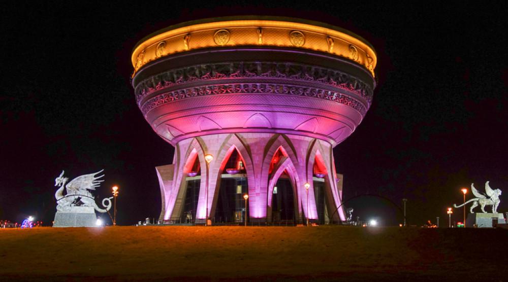 «Огни Казани» - ночная обзорная экскурсия по городу - фото №1