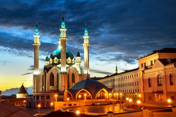 Экскурсия по ночной Казани на автобусе фото