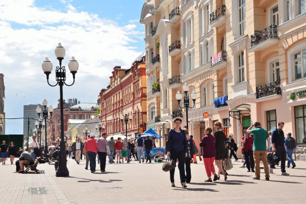 Москва дворянская - пешеходная экскурсия