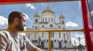 «CITY SIGHTSEEING» - экскурсия по Москве на красном двухэтажном автобусе - уменьшенная копия фото №3