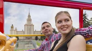 «CITY SIGHTSEEING» - экскурсия по Москве на красном двухэтажном автобусе - уменьшенная копия фото №5