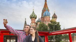 «CITY SIGHTSEEING» - экскурсия по Москве на красном двухэтажном автобусе - уменьшенная копия фото №6