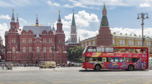 «CITY SIGHTSEEING» - экскурсия по Москве на красном двухэтажном автобусе - уменьшенная копия фото №7
