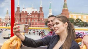 «CITY SIGHTSEEING» - экскурсия по Москве на красном двухэтажном автобусе - уменьшенная копия фото №8