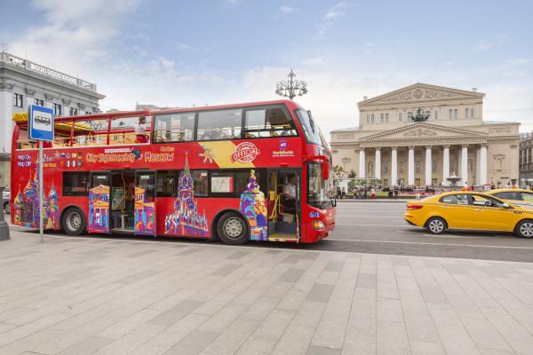 Автобусная экскурсия «CITY SIGHTSEEING» по Москве  – фото для каталога