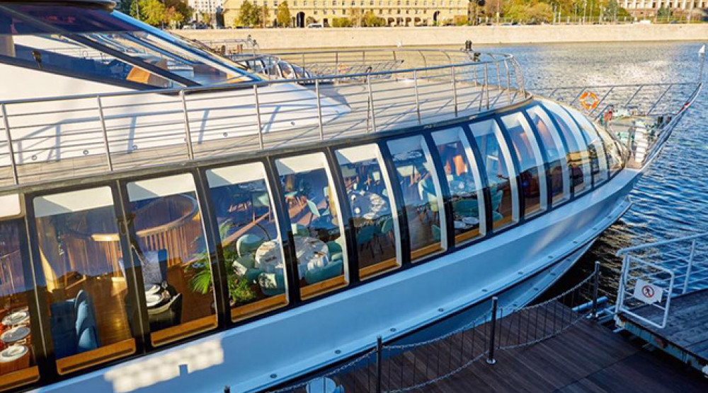 Прогулка по Москве-реке на яхте-ресторане ERWIN Река - фото