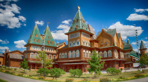 Дворец царя Алексея Михайловича в Коломенском - уменьшенная копия фото №0