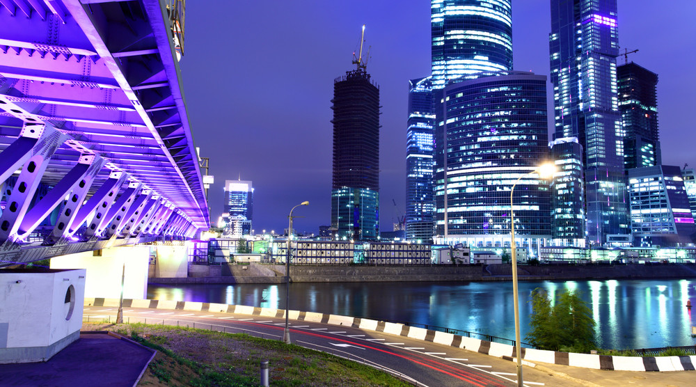 «Огни большого города» - обзорная экскурсия по ночной Москве - фото №1