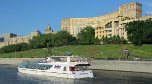 Прогулка по Москве-реке на яхтах Рэдиссон от гостиницы Украина - уменьшенная копия фото №9