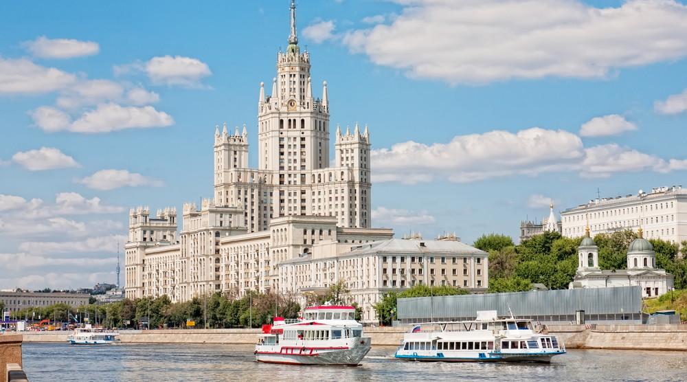 «Воробьевы горы» - речная прогулка по Москве с экскурсией - фото №1