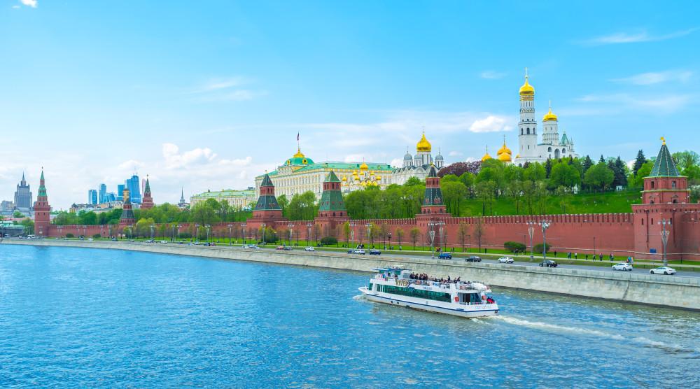 Водная прогулка по центру Москвы - билет на весь день с неограниченным количеством поездок - фото №1