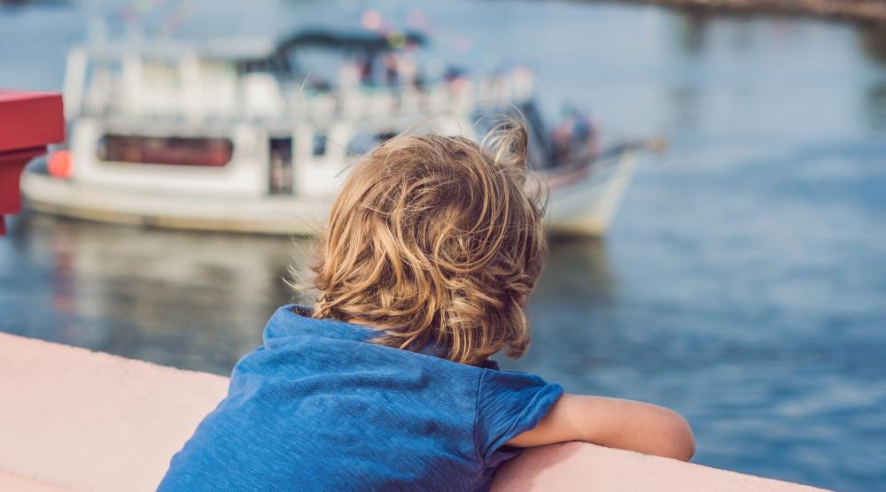 Посвящение в моряки - детский праздник на теплоходе по Москве-реке - фото №1