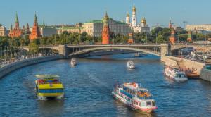 Речной трамвайчик - водная прогулка по Москва-реке - уменьшенная копия фото №3