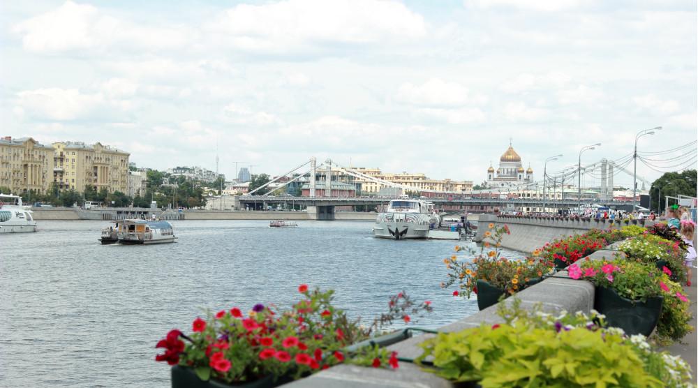 Речной трамвайчик - водная прогулка по Москва-реке - фото №1