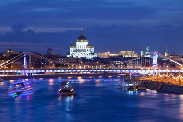 Речная прогулка по Москве-реке на День железнодорожника  – фото для каталога