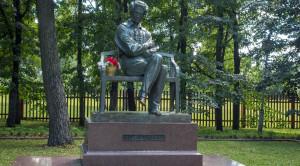 Памятник А.С.Пушкину в Болдино - уменьшенная копия фото №5