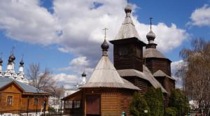 Церковь преподобного Сергия Радонежского - уменьшенная копия фото №3