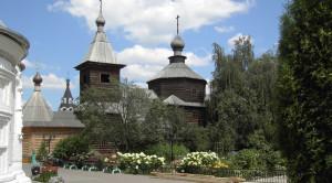 Церковь преподобного Сергия Радонежского - уменьшенная копия фото №4