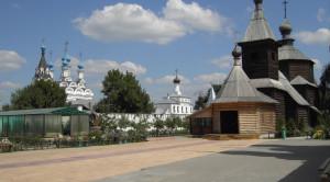 Церковь преподобного Сергия Радонежского - уменьшенная копия фото №5