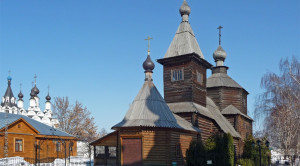 Церковь преподобного Сергия Радонежского - уменьшенная копия фото №7