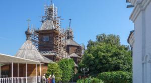 Церковь преподобного Сергия Радонежского - уменьшенная копия фото №2