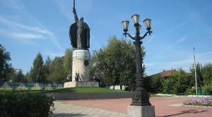 Памятник Илье Мурамцу - уменьшенная копия фото №1