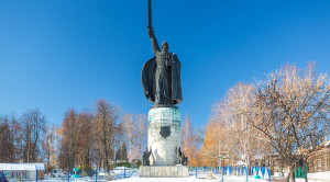 Памятник Илье Мурамцу - уменьшенная копия фото №3