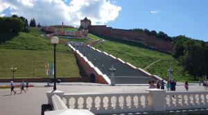 Чкаловская лестница - уменьшенная копия фото №4