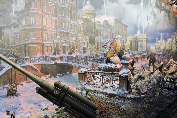 «Подвигу твоему, Ленинград!» - автобусная экскурсия фото