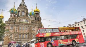 «CITY SIGHTSEEING» - экскурсия по Санкт-Петербургу на красном двухэтажном автобусе - уменьшенная копия фото №2