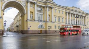 «CITY SIGHTSEEING» - экскурсия по Санкт-Петербургу на красном двухэтажном автобусе - уменьшенная копия фото №10