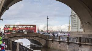 «CITY SIGHTSEEING» - экскурсия по Санкт-Петербургу на красном двухэтажном автобусе - уменьшенная копия фото №1