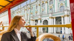 «CITY SIGHTSEEING» - экскурсия по Санкт-Петербургу на красном двухэтажном автобусе - уменьшенная копия фото №7