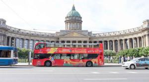 «CITY SIGHTSEEING» - экскурсия по Санкт-Петербургу на красном двухэтажном автобусе - уменьшенная копия фото №3