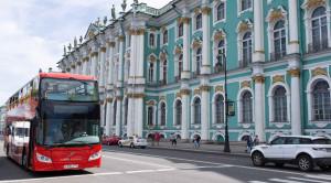 «CITY SIGHTSEEING» - экскурсия по Санкт-Петербургу на красном двухэтажном автобусе - уменьшенная копия фото №4