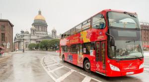 «CITY SIGHTSEEING» - экскурсия по Санкт-Петербургу на красном двухэтажном автобусе - уменьшенная копия фото №5