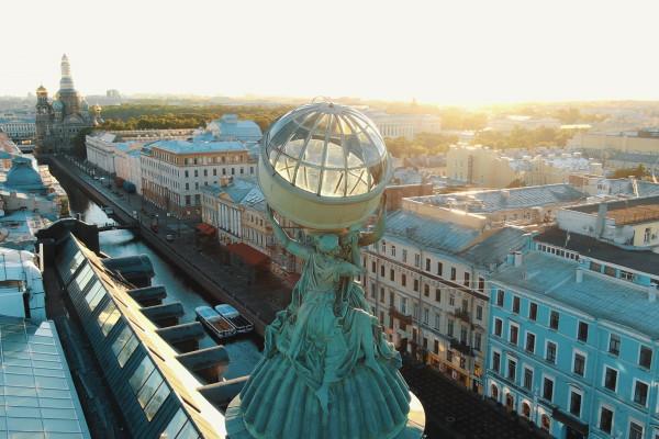 Дом компании Зингер - побывать на знаменитой крыше