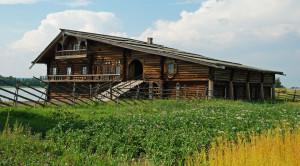 Дом Ошевнева на острове Кижи - уменьшенная копия фото №6