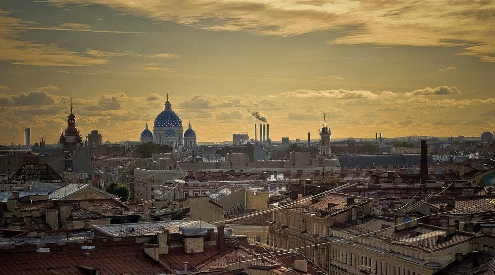 Прогулка по крышам Санкт-Петербурга в сопровождении гида - фото №1