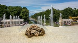 «Царство фонтанов» - экскурсия в Петергоф на метеоре - уменьшенная копия фото №4