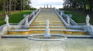 «Царство фонтанов» - экскурсия в Петергоф на метеоре - уменьшенная копия фото №13
