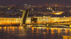 Ночная автобусная обзорная экскурсия по Санкт-Петербургу на английском языке - уменьшенная копия фото №5
