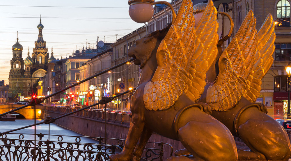 Ночная автобусная экскурсия по Санкт-Петербургу - фото №1