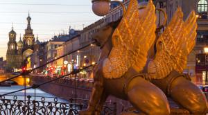 Ночная автобусная обзорная экскурсия по Санкт-Петербургу на английском языке - уменьшенная копия фото №6