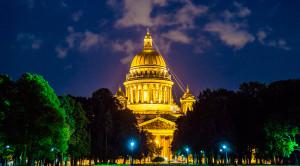 Автобусная экскурсия по ночному Петербургу с водной прогулкой по Неве - уменьшенная копия фото №4