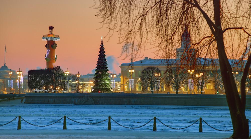 «Новогодняя сказка Петербурга» - обзорная автобусная экскурсия по городу - фото №1